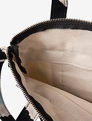 Marimekko - MILLI MATKURI PIENI UNIKKO 2 BAG - skuldertasker - off white,black,light blue - 4