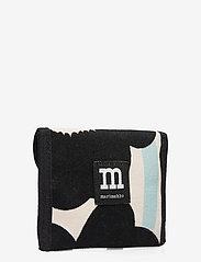 Marimekko - JUOLUKKA PIENI UNIKKO 2 WALLET - punge - off white,black,light blue - 2