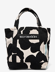Marimekko - SEIDI PIENI UNIKKO 2 BAG - shoppere - off white,black,light blue - 0