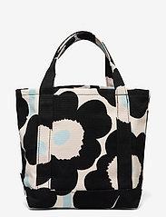 Marimekko - SEIDI PIENI UNIKKO 2 BAG - shoppere - off white,black,light blue - 1