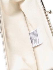 Marimekko - SILMÄLASI KUKKARO MINI UNIKKO PURSE - clutches - off white,light blue - 4