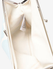 Marimekko - PUOLIKAS KUKKARO MINI UNIKKO PURSE - clutches - off white,light blue - 4