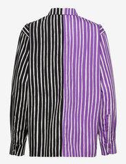 Marimekko - JOKAPOIKA 2017 MIX SHIRT - langærmede skjorter - violet, black - 1