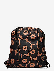 Marimekko - SMART SACK PIKKUINEN UNIKKO BAG - rygsække - brown, black - 1