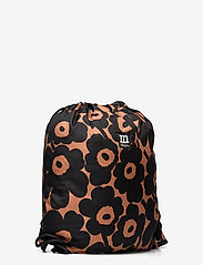 Marimekko - SMART SACK PIKKUINEN UNIKKO BAG - rygsække - brown, black - 2
