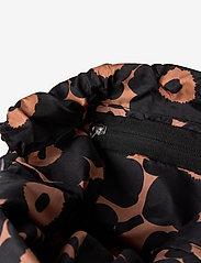 Marimekko - SMART SACK PIKKUINEN UNIKKO BAG - rygsække - brown, black - 4