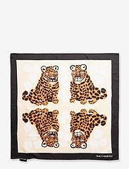 Marimekko - JOSINA KAKSOSET SCARF - tynde tørklæder - off white, brown, black - 1