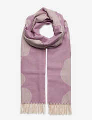 Marimekko - SUE JACQUARD JUHLA-UNIKKO SCARF - halstørklæder - lilac, cream - 0