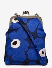Marimekko - AINIKKI MINI UNIKKO SHOULDER BAG - crossbody bags - dark blue,blue,off white - 0