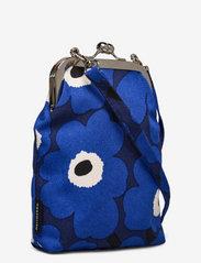 Marimekko - AINIKKI MINI UNIKKO SHOULDER BAG - crossbody bags - dark blue,blue,off white - 2