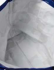 Marimekko - PERUSKASSI RUUTU-UNIKKO BAG - tote bags - blue,blue - 3