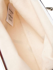 Marimekko - PUOLIKAS KUKKARO MINI UNIKKO PURSE - clutches - off white,peach,black - 4