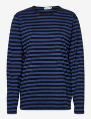 Marimekko - PITKÄHIHA SHIRT - langærmede toppe - black, blue - 0