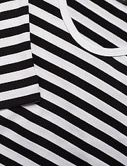 Marimekko - Pitkähiha shirt - langærmede toppe - white, black - 2