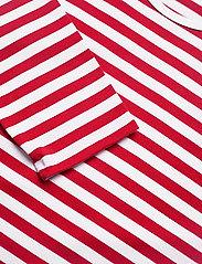 Marimekko - PITKÄHIHA 2017 Shirt - langærmede toppe - white, red - 2