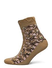 SALLA NURMU Ankle socks - GOLD, LIGHT PINK, BLACK