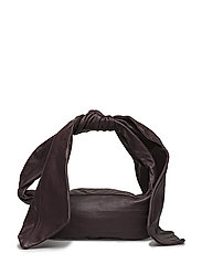 LIINA NAPPA Handbag - WINE RED