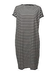 HAAPA TASARAITA Dress - SOFT BLACK, OFF WHITE