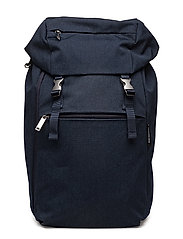 KORTTELI BACKPACK backpack - MELANGE BLUE