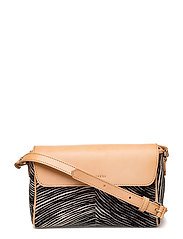 KAISA KUBB Bag - LIGHT BEIGE,BLACK