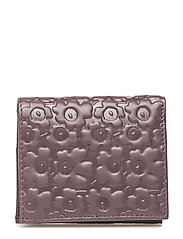 KATRI Wallet, leather - WINE RED