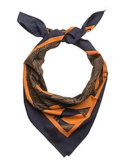 SILVI AMUR Scarf - BLUE,ORANGE,GREEN