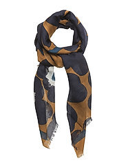 FIORE PIENI UNIKKO Scarf, woven - BROWN,BLUE,OFF WHITE