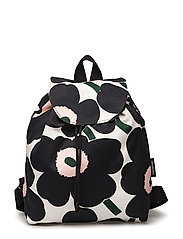 ERIKA PIENI UNIKKO backpack - OFF WHITE,DARK GRAY,GREEN