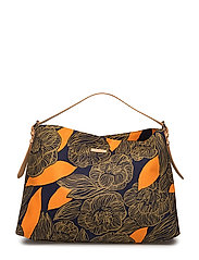ADALA AMUR Shoulder-bag - NAVY,GREEN,ORANGE