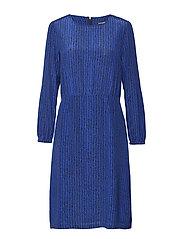 MIIJA KORPIKUUSI Dress - BLUE, BLACK