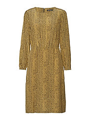 MIIJA KORPIKUUSI Dress - GOLD, BLACK