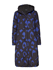 ELMBA KISSAPÖLLÖ Coat - BLUE, BLACK