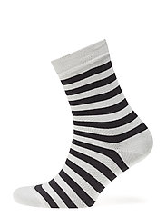 RAITSU Ankle socks - SOFT BLACK, OFF WHITE