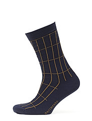 SALLA TIILISKIVI Ankle socks - BLUE, BROWN