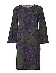 LEJO AKILEIJA Dress - PURPLE, BLACKBERRY, GREEN