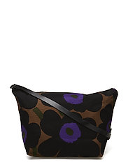 MARIA PIENI UNIKKO Shoulder-bag - BROWN,BLACK,PURPLE