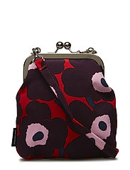 ROOSA MINI UNIKKO Shoulder-bag - RED,PLUM,LIGHT PINK