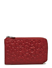 NILLA Wallet, leather - RED