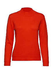 PERIHELI Knitted pullover - RED