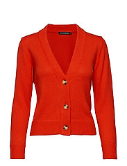 APHELI Knit cardigan - RED