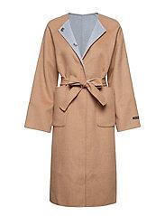 ONNELLINEN Coat - BROWN
