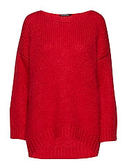 ATELINA Knitted pullover - RED
