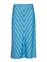 POUTA KISKORAITA Skirt - BLUE, DARK BLUE