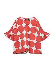 RUUPERTTI MINI KIVET 1 Shirt - LIGHT GREY, ORANGE