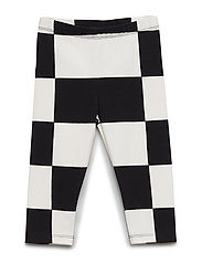 LAIRI KUKKO JA KANA Trousers - BLACK, OFF WHITE