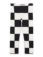 LAIRI KUKKO JA KANA 2 Trousers - BLACK, OFF WHITE
