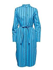 PAJU KISKORAITA Dress - BLUE, DARK BLUE