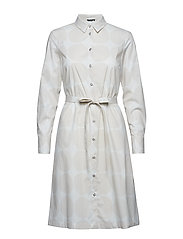 TRINA 2 PIENET KIVET Dress - LIGHT GREY, WHITE