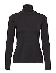 VEINE Turtleneck shirt - BLACK