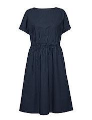 PIIRI SOLID Dress - DARK BLUE